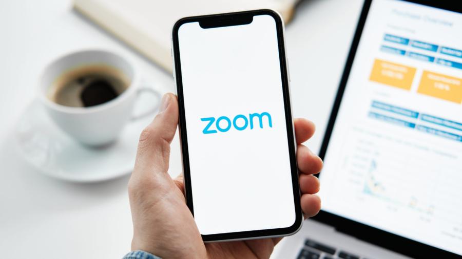 Tyumen,,Russia,-,March,25,,2020:,Zoom,Cloud,Meetings.,Video